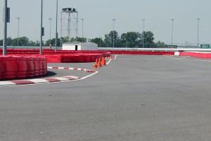 Turn No. 5 exit onto backstraight